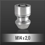 Bezpečnostní matice M14x2,00